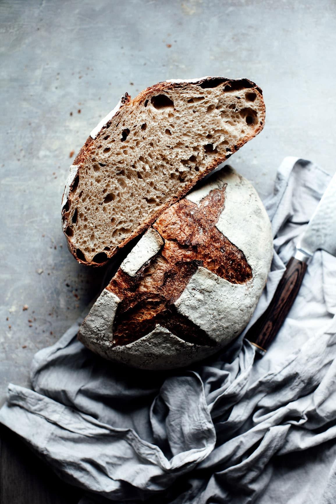 לחם מלא עבודת יד | טייסטפולי