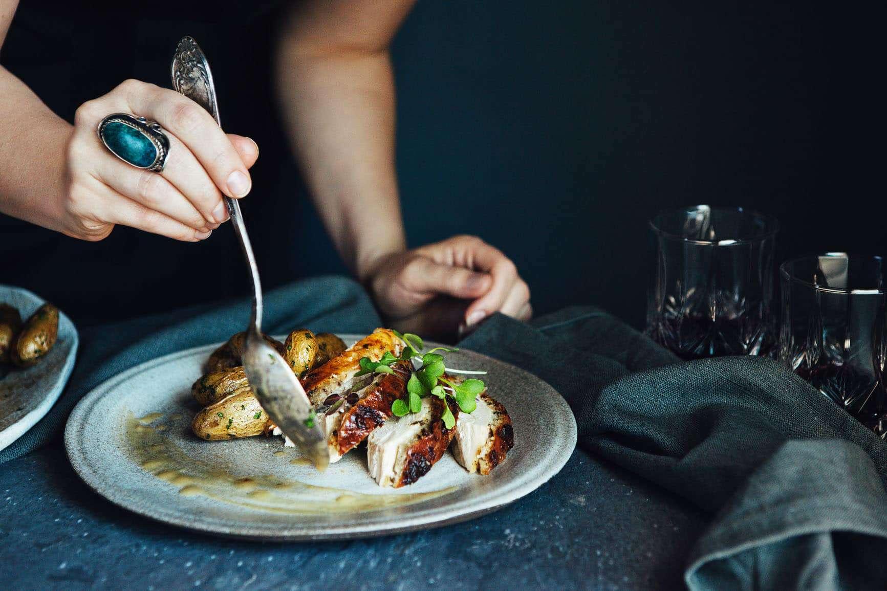 צילחות מנות שף | טייסטפולי