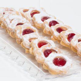 עוגיות ריבת תותים
