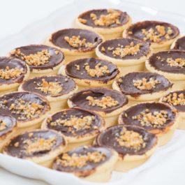 טארטלט שוקולד בלגי