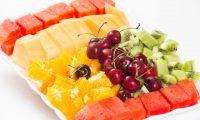דוכן פירות טריים